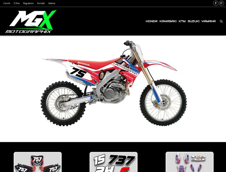 MGX Racing – okleiny motocyklowe